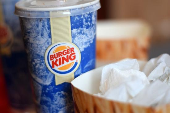 Burger King: Nuggets and drink!