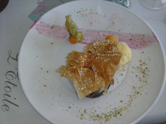 La Tulipe Crooustillante, dessert à l\'assiette pour 8 euros, un ...
