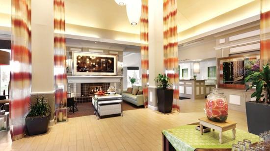 Hilton Garden Inn Bridgewater : lobby