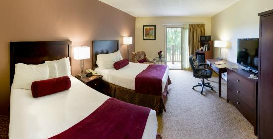 University Inn Academic Suites: Standard 2 double bed