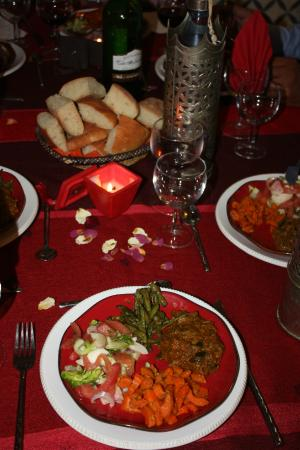 Riad dar Zaynab : Diner - entrée marocaine