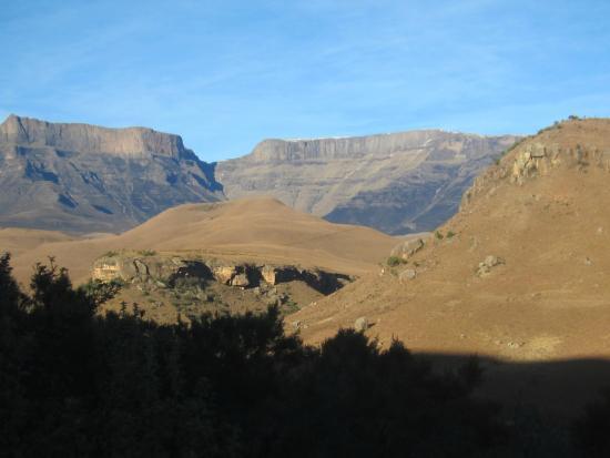 uKhahlamba-Drakensberg Park, แอฟริกาใต้: Ausblick auf die Berge,  Wanderungen !