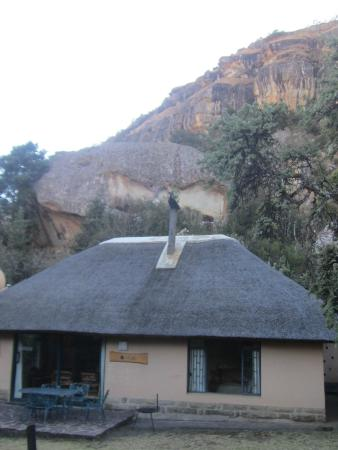 uKhahlamba-Drakensberg Park, แอฟริกาใต้: Studios verstreut auf ca. 80 mt ab Restaurant