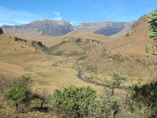 uKhahlamba-Drakensberg Park, แอฟริกาใต้: das Bild sagt mehr als tausen Worte