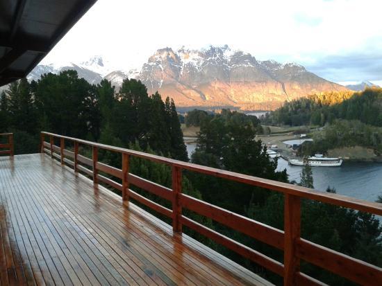 Intersur Amancay: Balcón del Hotel Amancay..