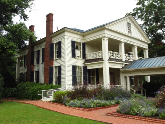 View Of The Home From Across The Grounds Picture Of Arlington Antebellum Home And Gardens