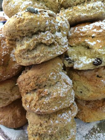 Kariba's Restaurant and Coffee House: Freshly Baked Selection of Scones