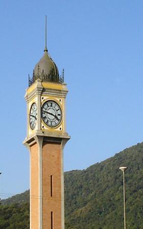 Pousada Shamballah: Relógio da Estação