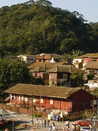 Pousada Shamballah: Vista da Vila de Paranapiacaba