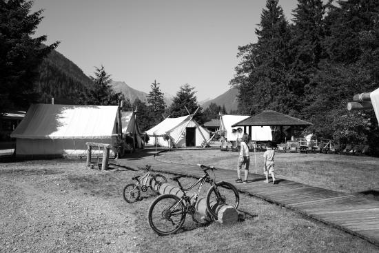 Clayoquot Sound, Kanada: Tents
