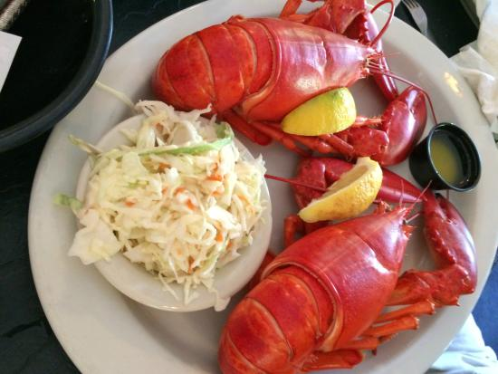 "The twin lobster ""Special"" - Picture of Lobster Trap, North Conway - TripAdvisor"