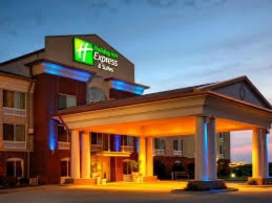 Holiday Inn Express Hotel & Suites Vandalia: Hotel - Exterior