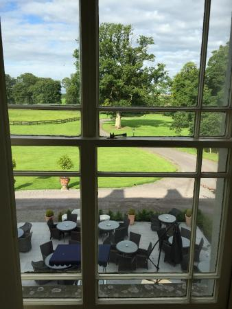 Tankardstown: View from the bedroom window