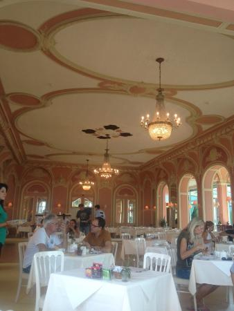 Eden Palace au Lac: ресторан отеля