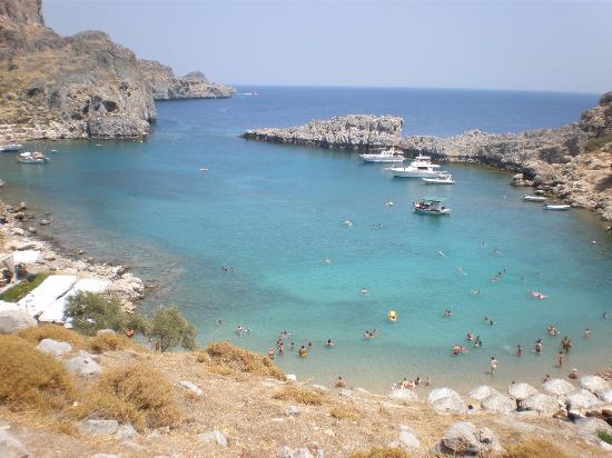 Baia - Picture of Agios Pavlos Beach (Saint Paul), Lindos ...