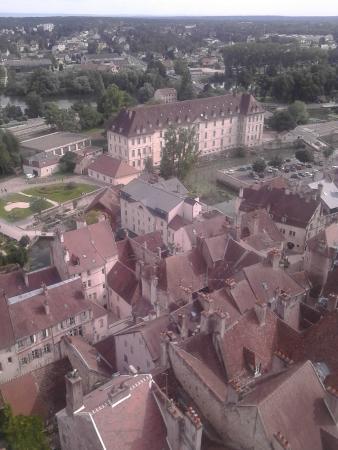 Collégiale Notre-Dame de Dole : Vue depuis le clocher