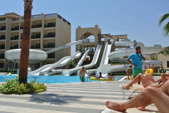 Water Slides Bild Von Steigenberger Aqua Magic Hurghada Tripadvisor