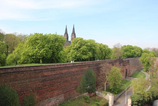 Vysehrad City Walls