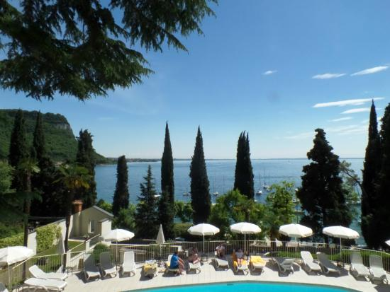 View from room 112 - Picture of Hotel Excelsior le Terrazze, Garda ...