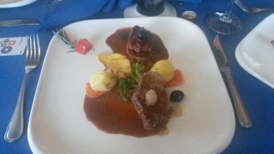 Leckeres Essen im Hotel im Gourmet Restaurant