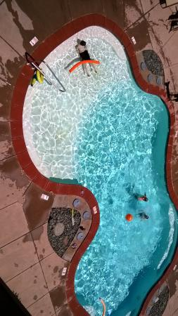 Blue Lake Casino Hotel: The pool