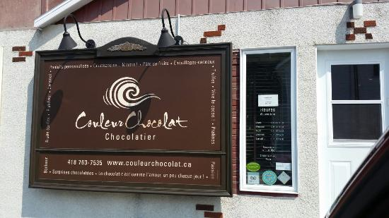 Sainte Anne des Monts, Kanada: Couleur Chocolat