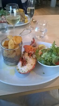 L'Auberge: Lobster and Chips 😊
