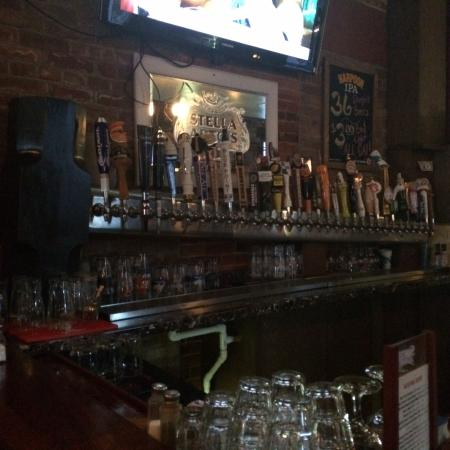 The Rusty Hammer: Beers on tap