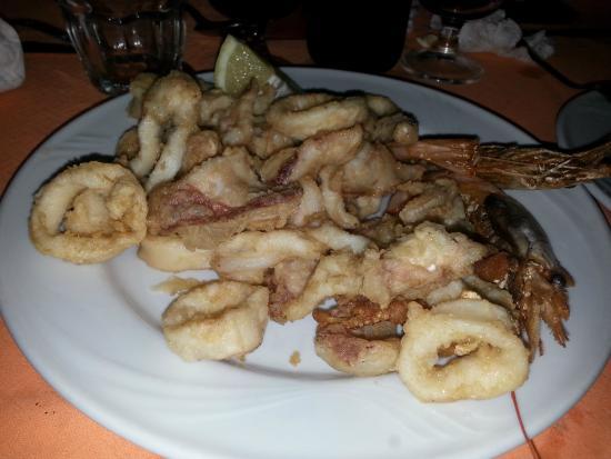 Pizzeria da Liberato: Frittura di pesce