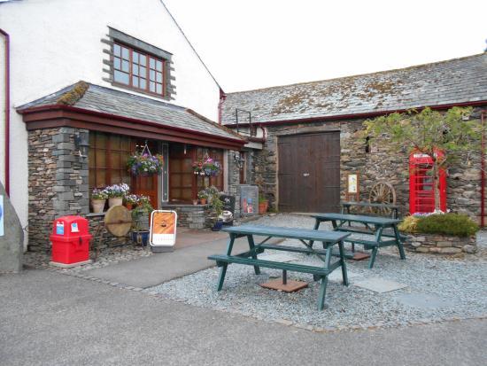 Castlerigg Hall Caravan and Camping Park: Shop area
