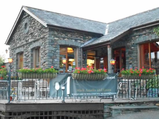 Castlerigg Hall Caravan and Camping Park: Jiggers restaurant