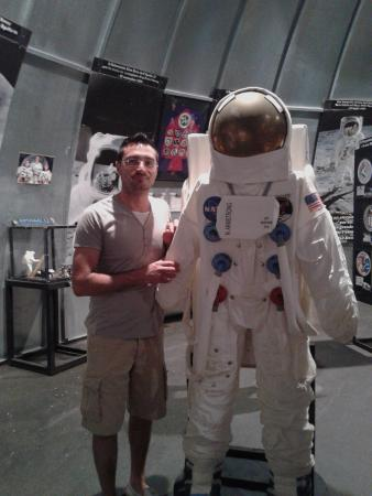 Parco Astronomico San Lorenzo: l'astronauta