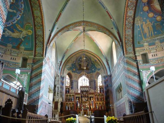 Stiftskirche Buecken - intérieur