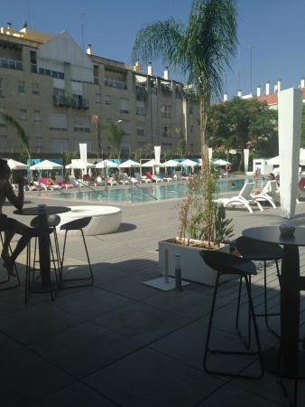 Piscine picture of melia lebreros seville tripadvisor - Seville hotel piscine ...