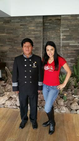 Sonesta Hotel Cusco: With Edgar, the best doorman  in the world, I am no kidding