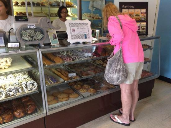 Crust & Crumb Bakery: It is hard to decide!