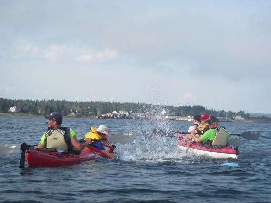 LaHave, Kanada: Water fight!