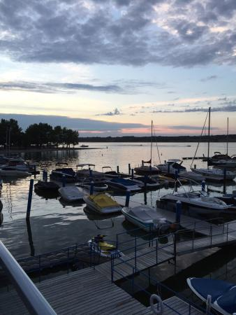 Memories Fine Dining: A view from the deck and some of the summer dishes