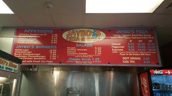 Jaybo's Pizza & Grill
