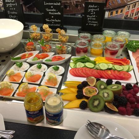 Hotel Deutsches Haus: Ontbijt