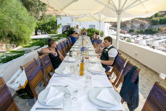 Skala Beach Restaurant Lindos 2