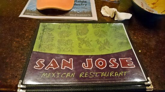 Mexican Restaurant San Jose Soup Menu