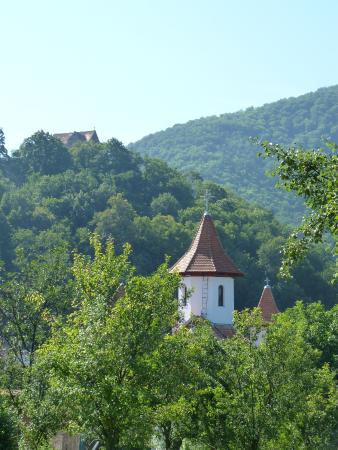 Secret Transylvania Guest House: View from Di and Jez's garden