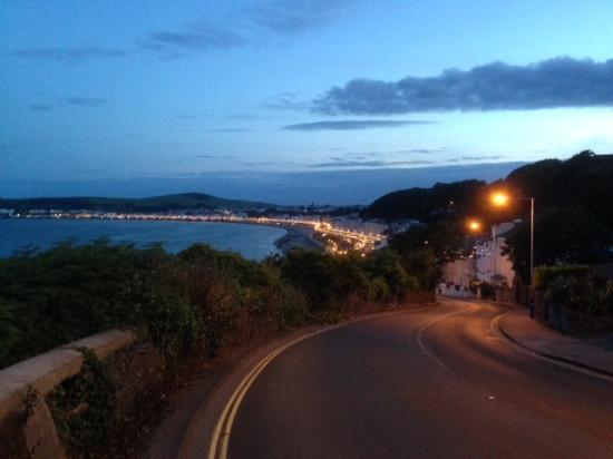 Onchan Pleasure Park: View from onchan