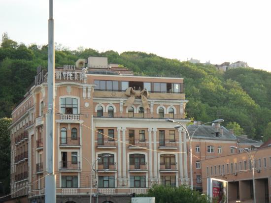 Boutique Hotel Riviera on Podol : Вид днем