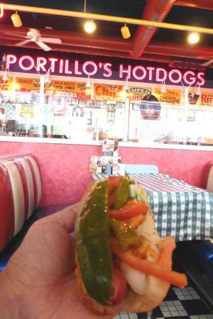 Portillo's: Chicago hot dog