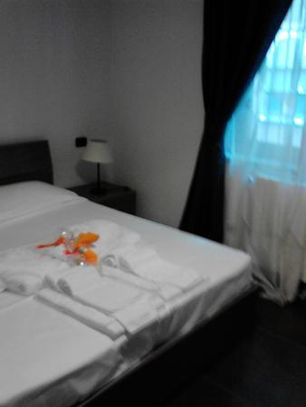 Turatisette - Art Residence: Camera da letto