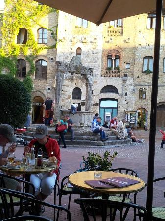 La Cisterna San Gimignano Restaurant