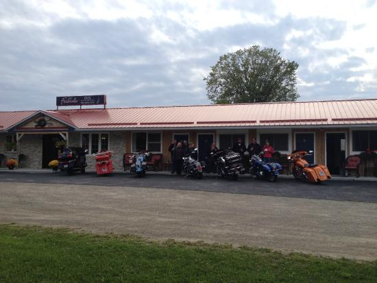 My Friends Inn Manitoulin : Bikers Welcome!