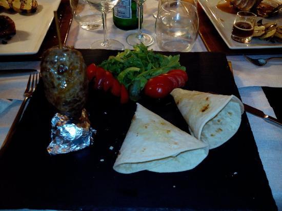 Cesi, Italy: Kebab d'agnello